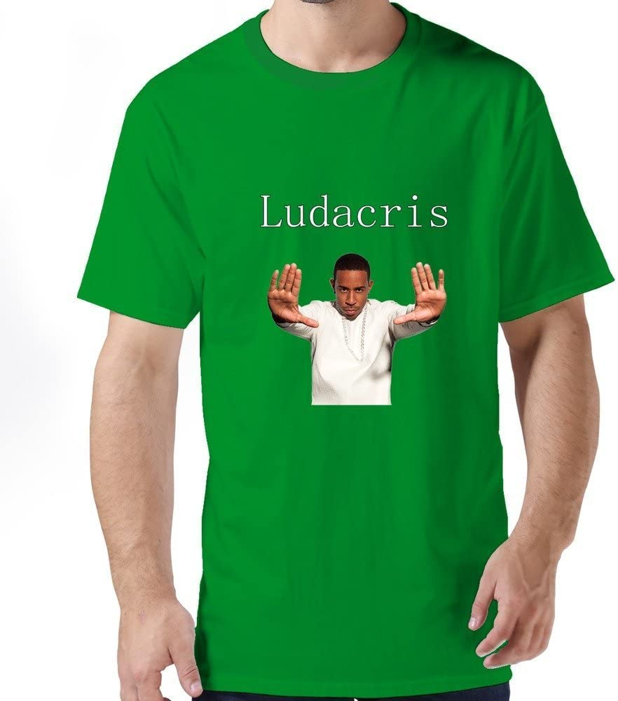 Buluew Men's Rock Ludacris O Neck T-Shirt Size US RoyalBlue