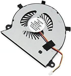 Replacement CPU Cooling Fan for Toshiba Satellite Radius P55W-B P55W-B5112 P55W-B5162SM P55W-B5181SM P55W-B5201SL P55W-B5220 P55W-B5224 P55W-B5260SM P55W-B5318 P55W-B5380SM Series