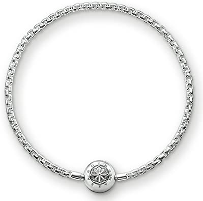 on feet images of cheaper for whole family Thomas Sabo KA0001 - 001-12-l18 Bracelet: Amazon.co.uk: Jewellery