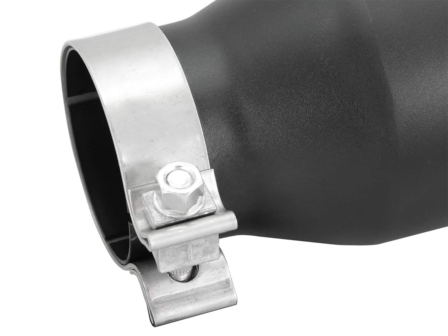 aFe Power 49T30451-B09 3 Inlet x 4-1//2 Outlet x 9 Length Stainless Steel Black Bolt-On Exhaust Tip