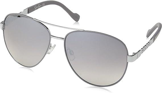 Jessica Simpson Women's J5359 Aviator Sunglasses with Mirrored Lens