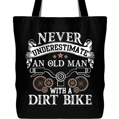 Amazon.com: Nunca subestimes una bolsa de mano para hombre ...