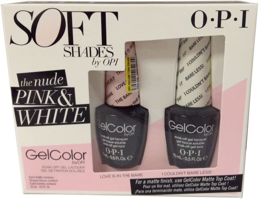 OPI Gel color Soak-off Gel Soft Shades Duo Pack Love Is In The ...