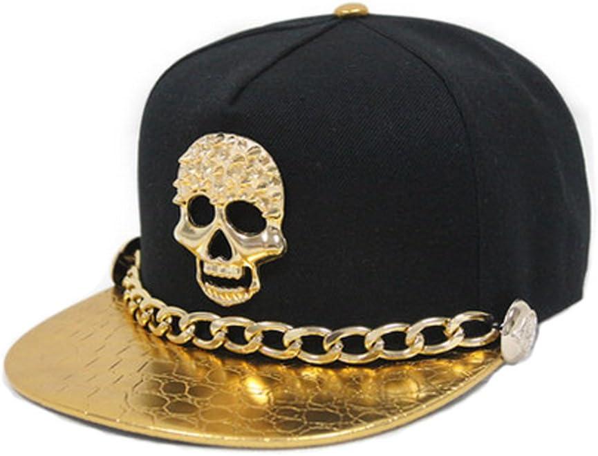 Blancho Snapback r/églable Chapeaux Casquette Punk Rock Hip-hop Style