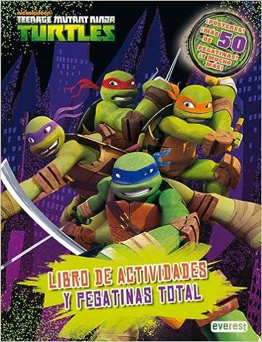 Amazon.com: Tortugas Ninja. Libro de actividades y pegatinas ...