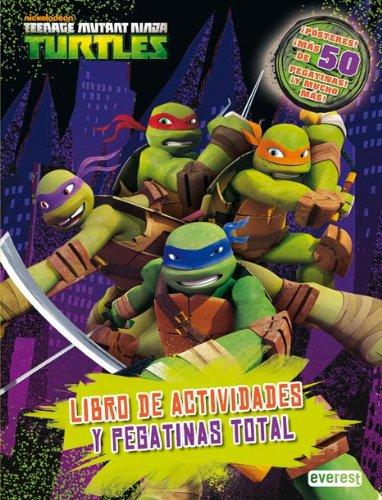 Tortugas Ninja. Libro de actividades y pegatinas total ...