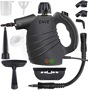 Handheld Steam Cleaner, Portable Steam Cleaner 10 in 1 Set Steamer for Household Cleaning, Multi-purpose for Multi-surface/Multi-material, Suitable for Home, Sofa, Bathroom, Car seat, Bedroom Cleaning