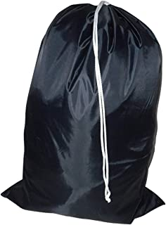 product image for Laundry Bag - Locking Drawstring Closure and Machine Washable. These Large Bags Will Fit a Laundry Basket or Hamper and Strong Enough to Carry up to Three Loads of Clothes (Dark Navy)