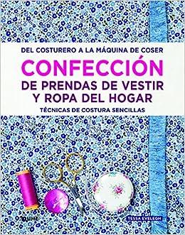 Confección de prendas de vestir y ropa del hogar: Amazon.es ...