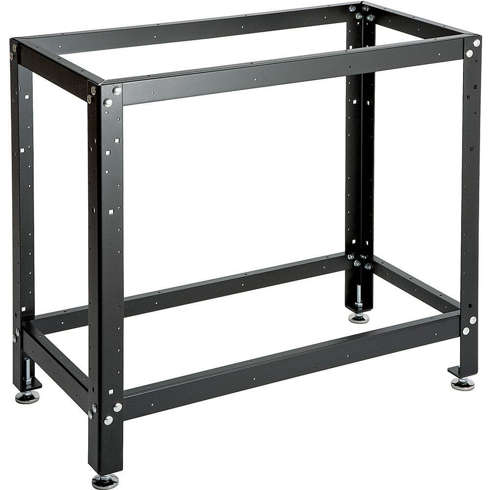 18 in x 36 in adjustable workbench stand power tool stands amazoncom - Workbench Frame
