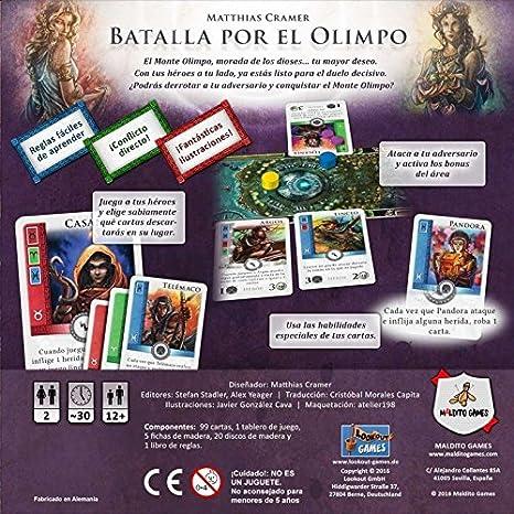 BATALLA POR EL OLIMPO: Amazon.es: Juguetes y juegos