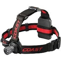Coast HL40 Alkaline LED Headlamp with Hardhat Compatibility
