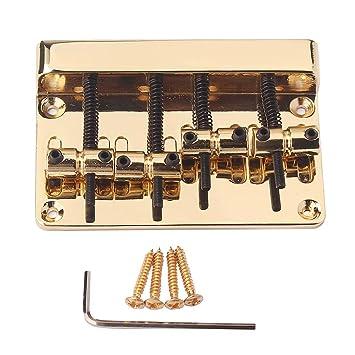 perfk 1 x Bass Puente Llave Tornillos 4 Cuerdas para Guitarras Bajo Accesorio de Repuesto Perfecto para Guitarra Eléctrica: Amazon.es: Instrumentos ...