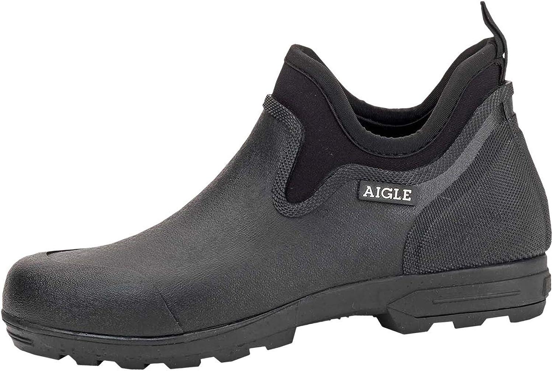 Aigle Men's Lessfor Plus M Clog Black