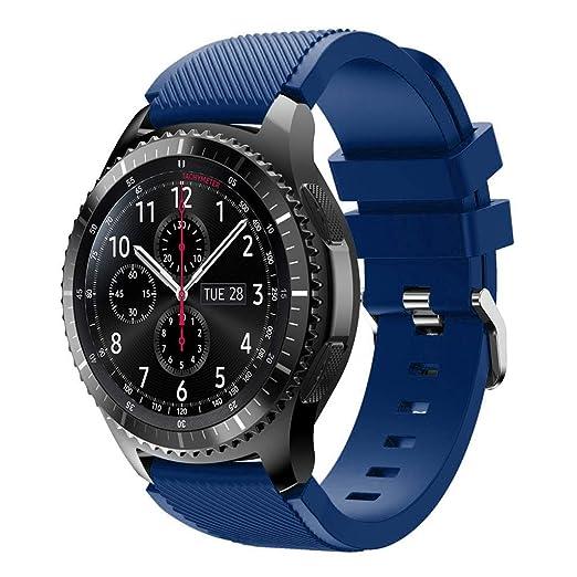 Tubicu - Correa de repuesto de silicona suave para reloj Samsung ...