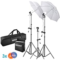 Neewer 5500K Photo Studio Continuous Lighting Umbrellas Kit
