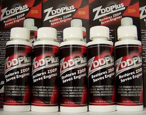 ZDDPPlus ZDDP Engine Oil Additive Zinc & Phosphorus 5 Bottle Pkg ZDDPlus