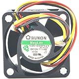 SUNON MB40201VX-0000-G99 DC FAN, AXIAL, 40MM X 40MM X 20MM, 12V (1 piece)