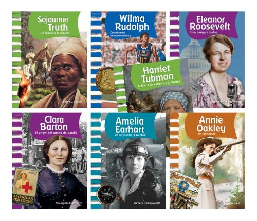 American Biographies: Women Spanish Goreader Audio Set por Teacher Created Materials