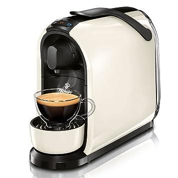 Tchibo Cafissimo Pure Máquina para café de Cápsulas, Café expreso y Café Crema, blanco