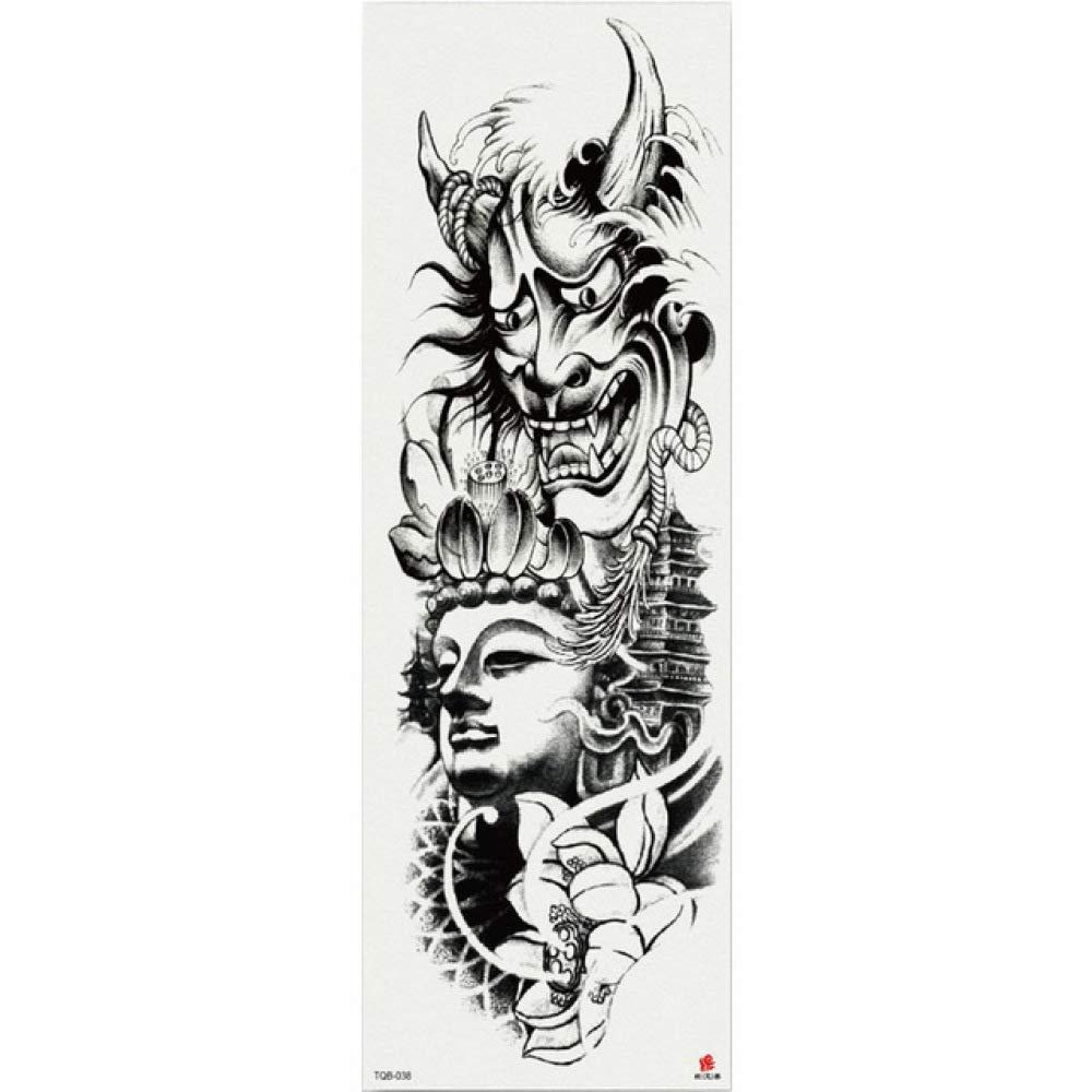 7pcs Adhesivo de papel de oro del tatuaje tatuaje pieza larga ...