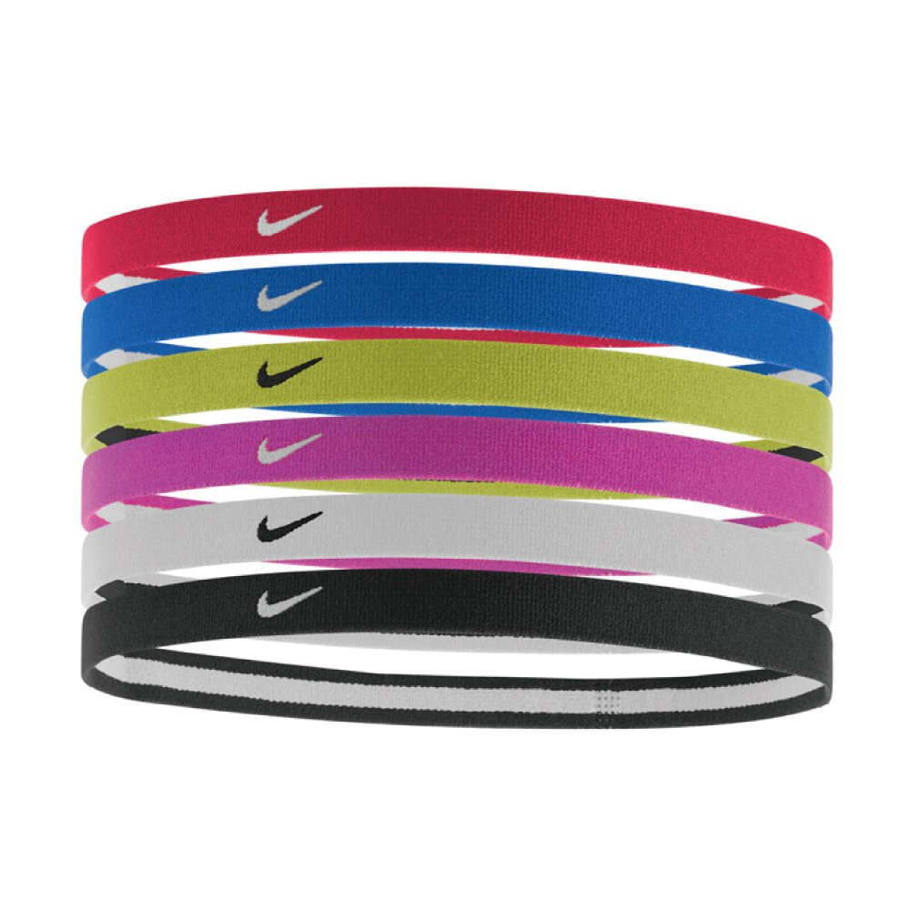 Nike Swoosh Sport Headbands 2.0 (Multi-Color) by Nike