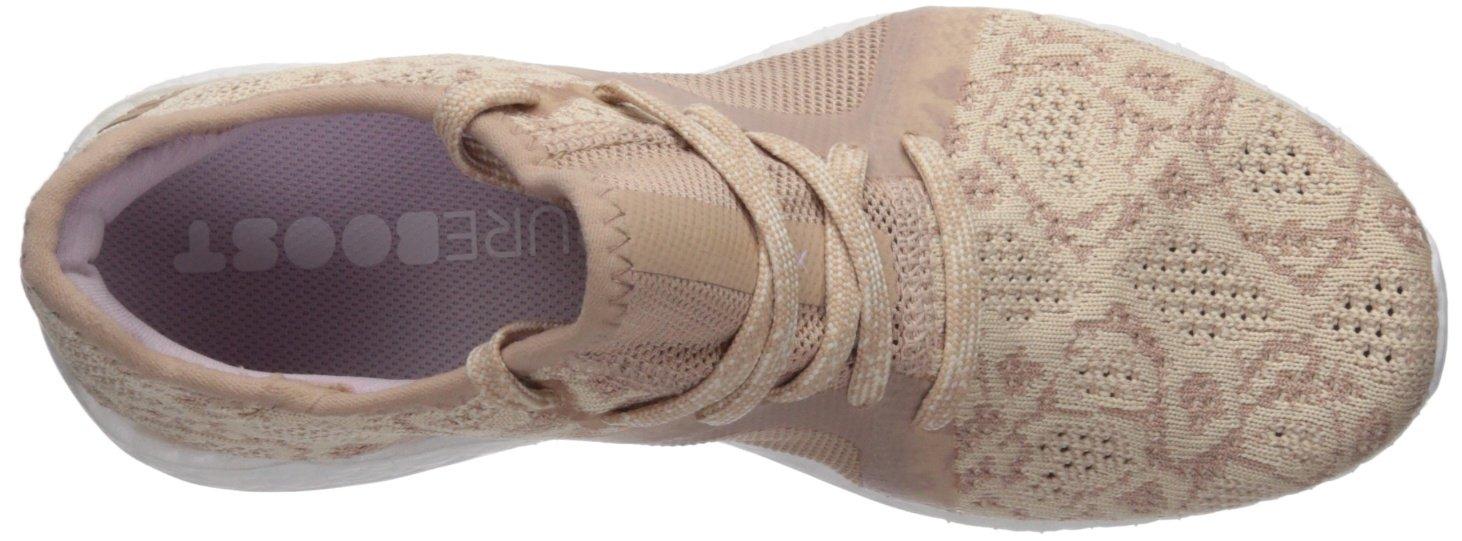 adidas Women's Shoe Pureboost X Element Running Shoe Women's B0719HP4TY 10.5 B(M) US|Ash Pearl/Ash Pearl/Hi-res Blue 222215