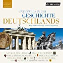 Unterwegs in der Geschichte Deutschlands Audiobook by Andreas Horchler, Christine Hillebrand, Ruth Fühner Narrated by Frank Arnold