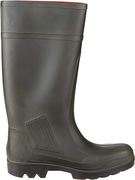 TALLA 41 EU. Dunlop Pull-On Self-Lined Wellingtons - Green - Size 39 40 41 42 43 44