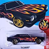 2016 Hot Wheels FLAMES Special Edition Bundle (#8,9, and 10 – Black Camero)