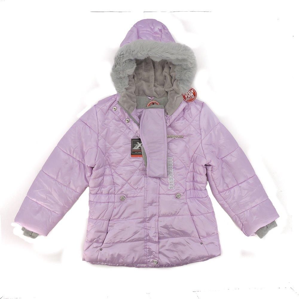 Mauve 10//12 ZeroXposur Snow Jacket Kids Faux
