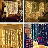 AMARS Curtain String Lights with Remote Control