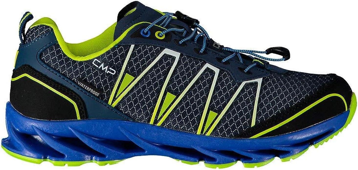 CMP Kids Altak Trail Shoes WP 2.0, Zapatilla Running Unisex Niños, Cosmo Limeade, 35 EU: Amazon.es: Zapatos y complementos