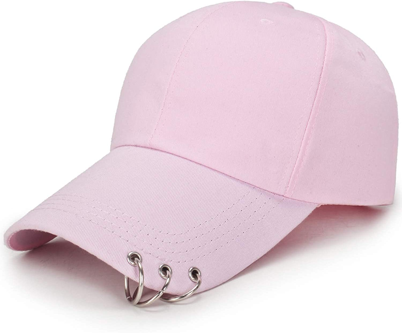 Baseball Cap with Rings BTS Jimin hat BTS suga BTS Live The Wings Tour Kpop Cap Iron Ring Hats Baseball Cap