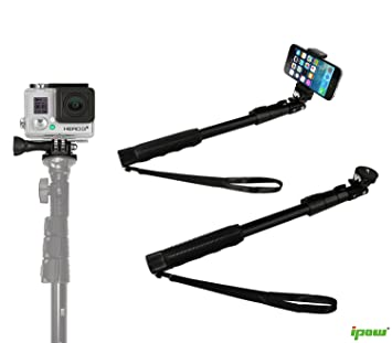 best authentic 37dc5 2e293 Selfie Stick,for Gopro,cameras and Mobile Phone-ipow: Amazon.co.uk ...
