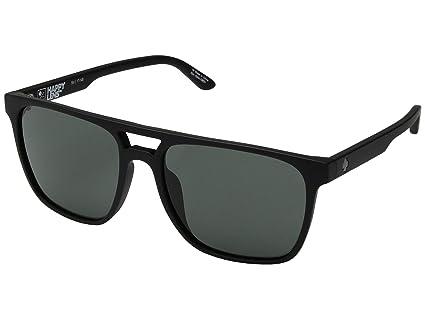 Spy Czar - Gafas de Sol, Color Negro Mate con Lente Verde ...