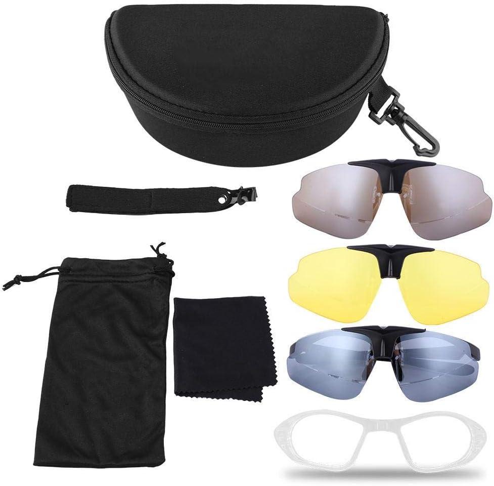 Tbest Gafas Polarizadas de Seguridad, Gafas Ciclismo Fotocromaticas Antiniebla Gafas Tácticas Antivaho Gafas Balisticas Militares Gafas Airsoft Caza Gafas Protector Ocular(Caqui): Amazon.es: Deportes y aire libre