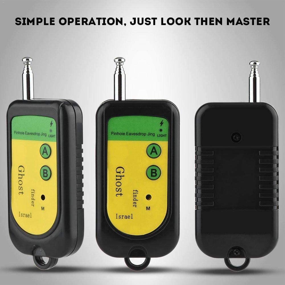 Portable Wireless Signal Detector Camera Finder Anti Spy Detectors Suitable for Hotels Restaurants Locker Rooms
