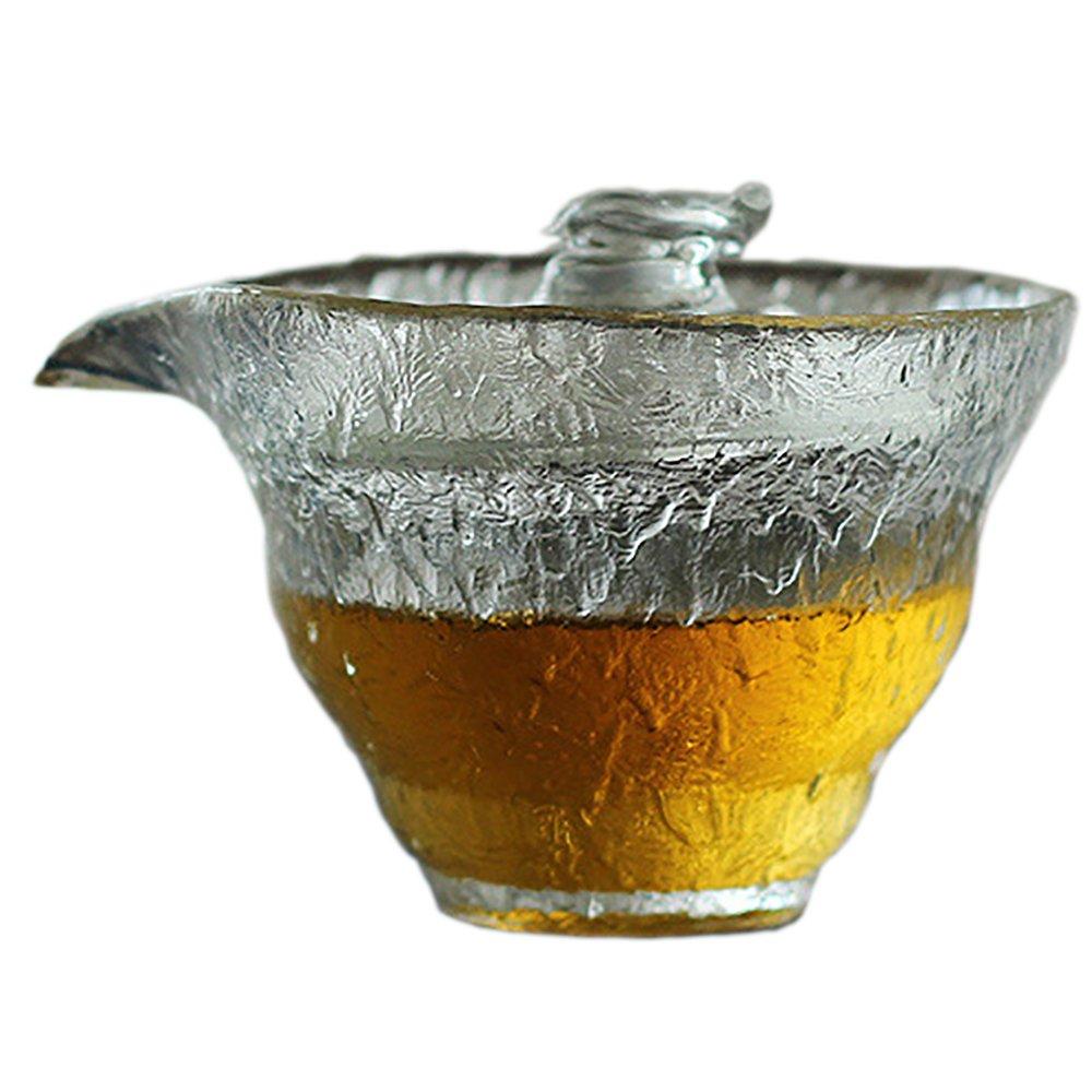 Taza de t/é tradicional de cristal japon/és de cristal de la marca Never King de 220 ml