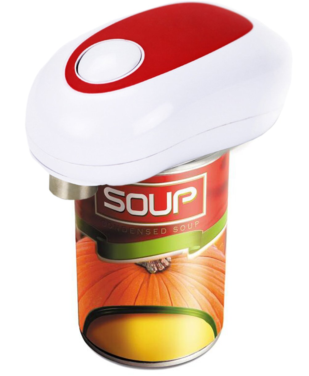 Electric Can Opener,Warmword Smooth Edge Automatic Electric Can Opener Hands Free
