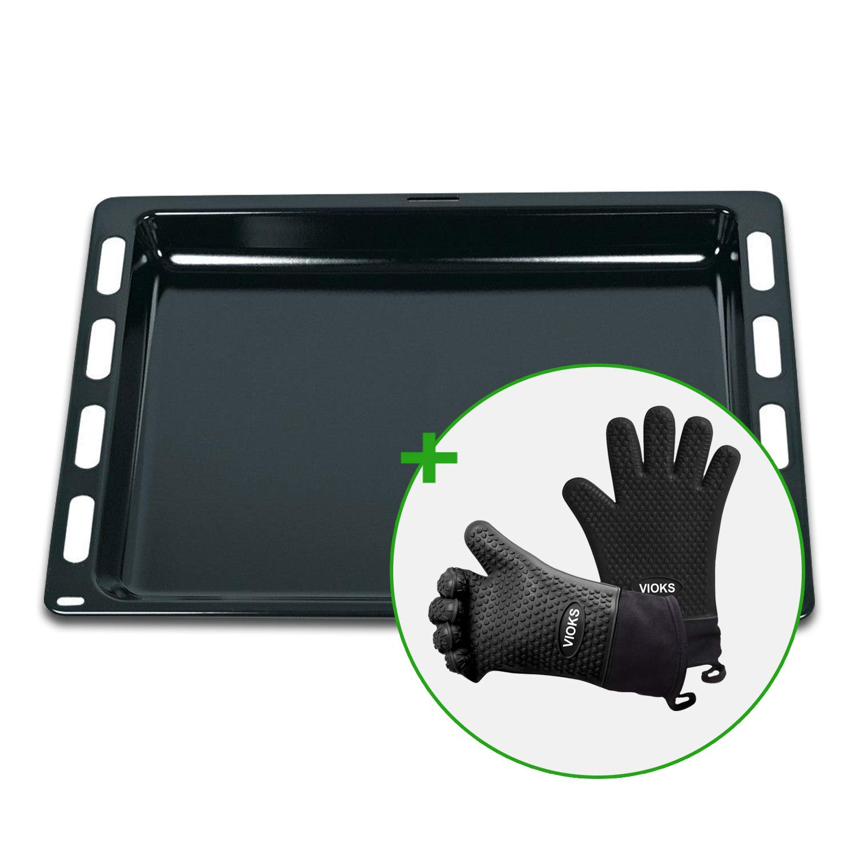 Bosch Siemens 00790278 - Bandeja de horno con 2 guantes de ...