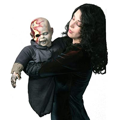 Costumes For All Occasions Ta309 Zombie Zack Latex Puppet: Toys & Games