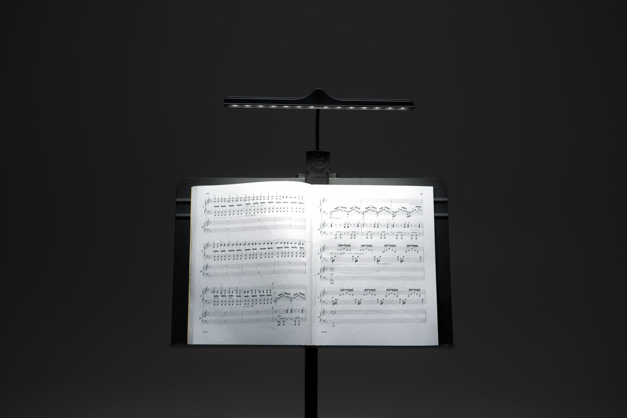 Lotus Light PRO14 Music Stand Light - Lithium Battery, Bag and Adaptor