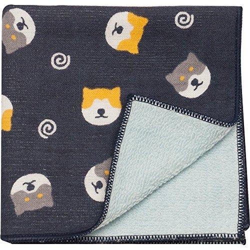 Hamamonyo Gauze Pile Handkerchief (Shiba Inu -