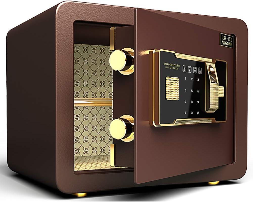 Caja Fuerte para Pared Cerradura de combinaci/ón de electr/ónica Digital Caja Fuerte biom/étrica con Sistema de Bloqueo de Huellas Dactilares Y-BXX Safe Safe Fingerprint Fireproof