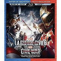 Captain America: Civil War (Bilingual) [3D Blu-ray + Digital Copy]