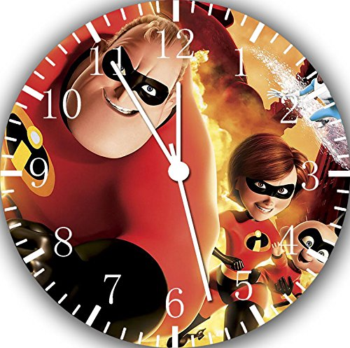 Disney The Incredibles Frameless Borderless Wall Clock F54 Nice For Gift or Room Wall Decor