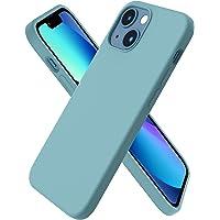 ORNARTO Kompatybilne z iPhone 2021 etui 5,4 cala, płynny silikon guma etui na telefon, cienkie i miękkie 3 warstwy pełne…