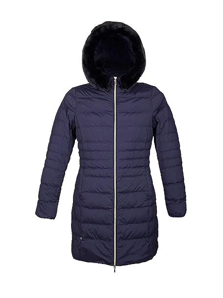 Geox W8425R T2495 Piumino Donna Blu 50  Amazon.it  Abbigliamento 87a9801a045