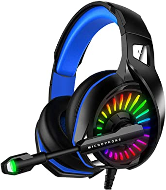 WZTO Auriculares Gaming para PS4, PC, Xbox One, Auriculares con ...